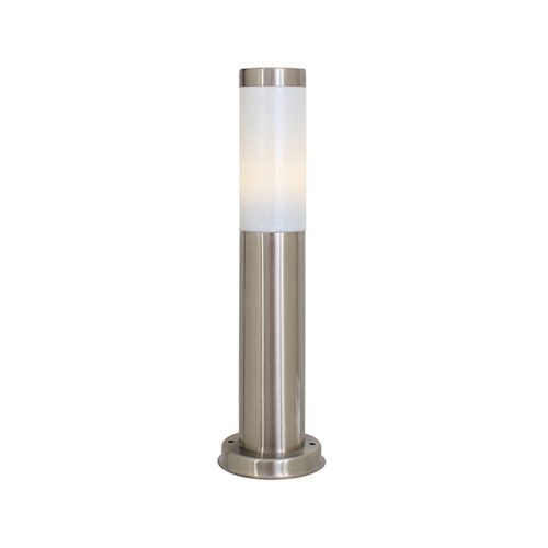 EUROLUX O51SS SATIN CHROME BOLLARD