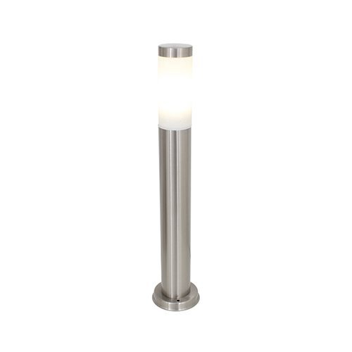 EUROLUX O67SS SATIN CHROME BOLLARD