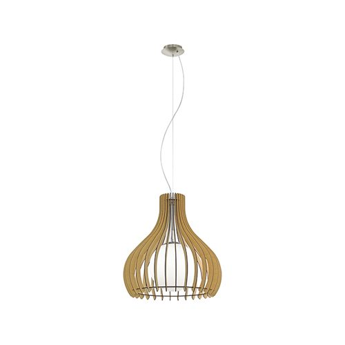 EUROLUX P129M TINDORI MAPLE WOOD PENDANT