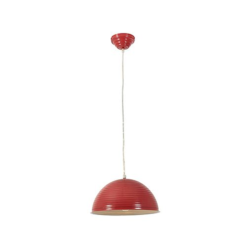 EUROLUX P412 STEEL RED PENDANT