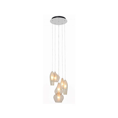 EUROLUX P428AM NABULA CHROME PENDANT