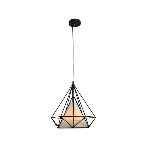 EUROLUX P478 DIAMANTE BLACK PENDANT