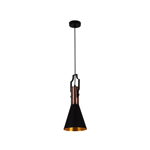 EUROLUX P958 ELEANOR BLACK PENDANT
