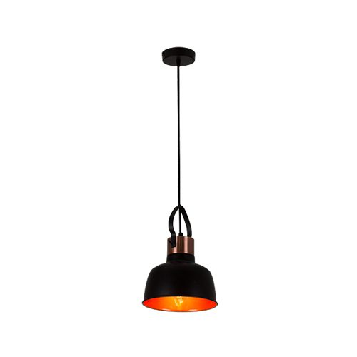 EUROLUX P961 ELEANOR BLACK & COPPER PENDANT