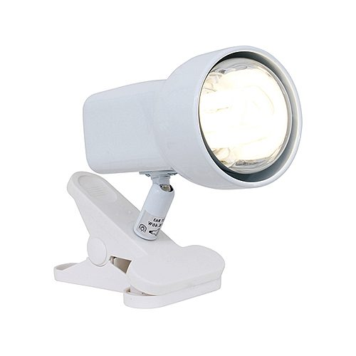 EUROLUX T307W WHITE QUATTRO DESK CLAMP LAMP