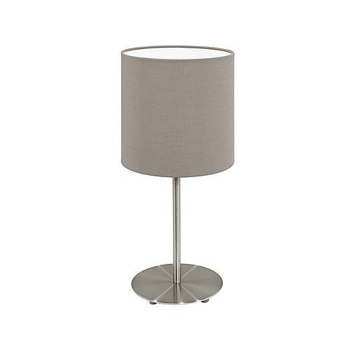 EUROLUX T537T PASTERI TAUPE LAMP