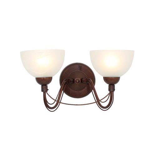 EUROLUX W31R RUST WALL LIGHT