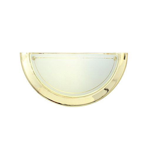 EUROLUX W36PB ITALIAN POLISHED BRASS WALL LIGHT