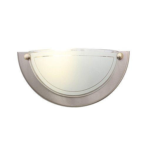 EUROLUX W36SC ITALIAN SATIN CHROME WALL LIGHT