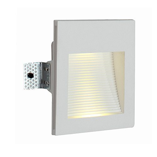 EUROLUX W382 GYPSUM RECESSED WHITE WALL LIGHT