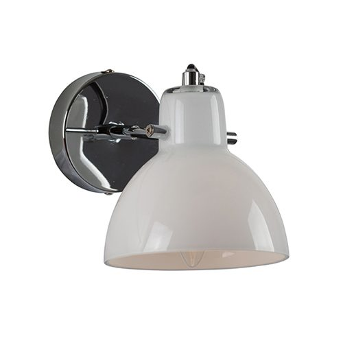 EUROLUX W562CH SIENA CHROME WALL LIGHT
