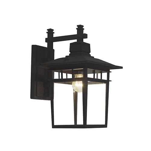 RADIANT RO216 BLACK WALL LIGHT