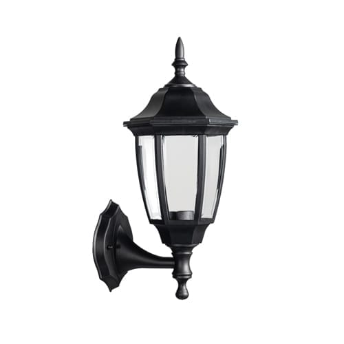 SYNERJI SYOWL011 BLACK WALL LIGHT