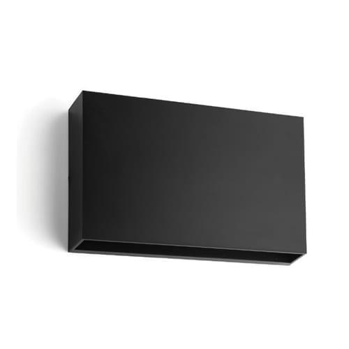 SYNERJI SYOWL001 BLACK OUTDOOR WALL LIGHT