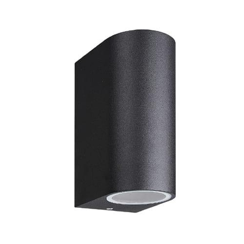 SYNERJI SYOWL004 BLACK UP & DOWN FACING WALL LIGHT